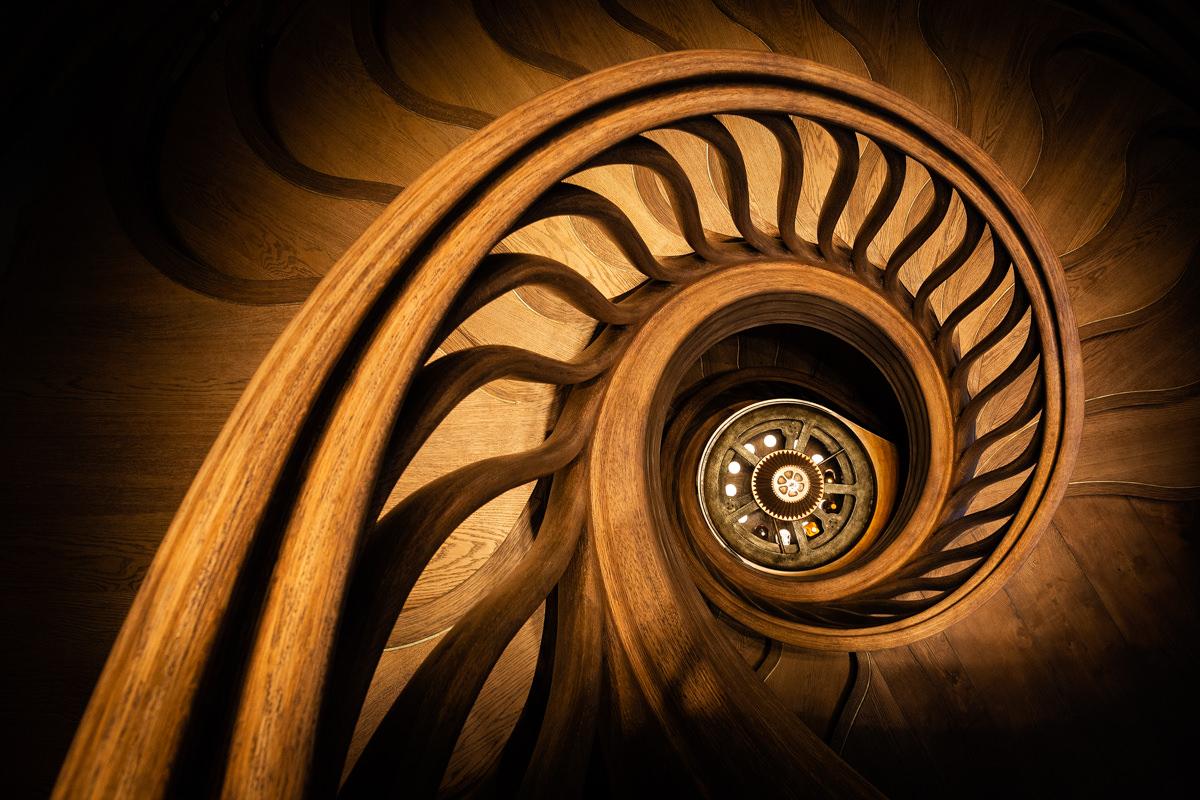 spiral staircase london mayfair