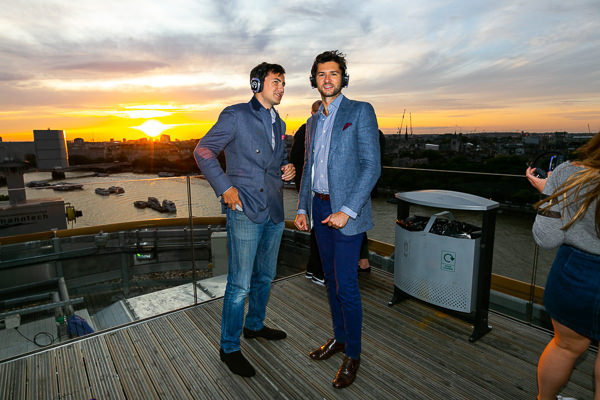 felt music party sea containers london