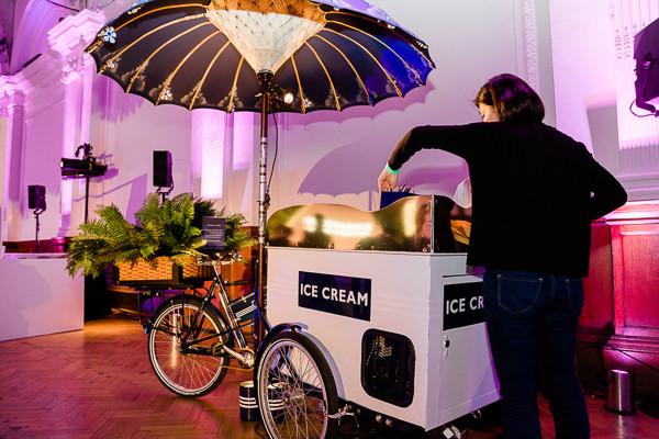 ice cream bike at singapore business event london