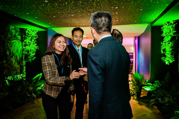 guests meet at singapore event