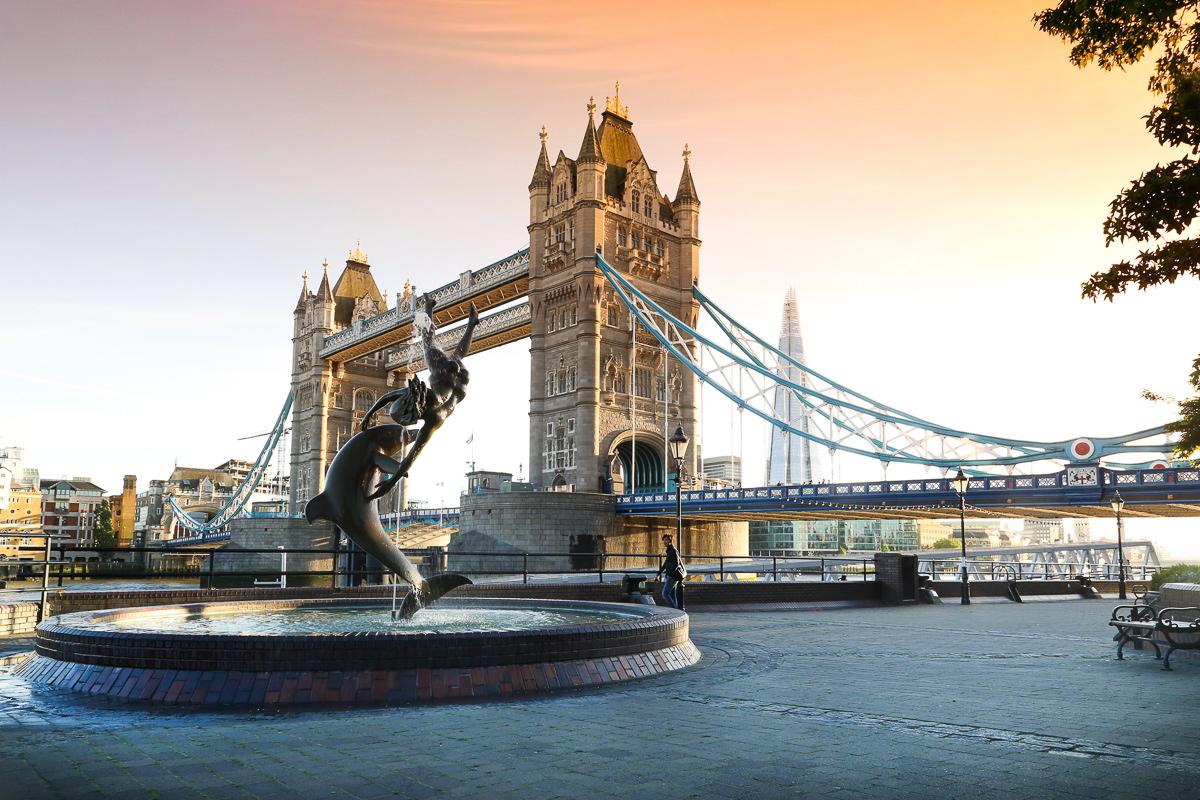 london bridge landscape