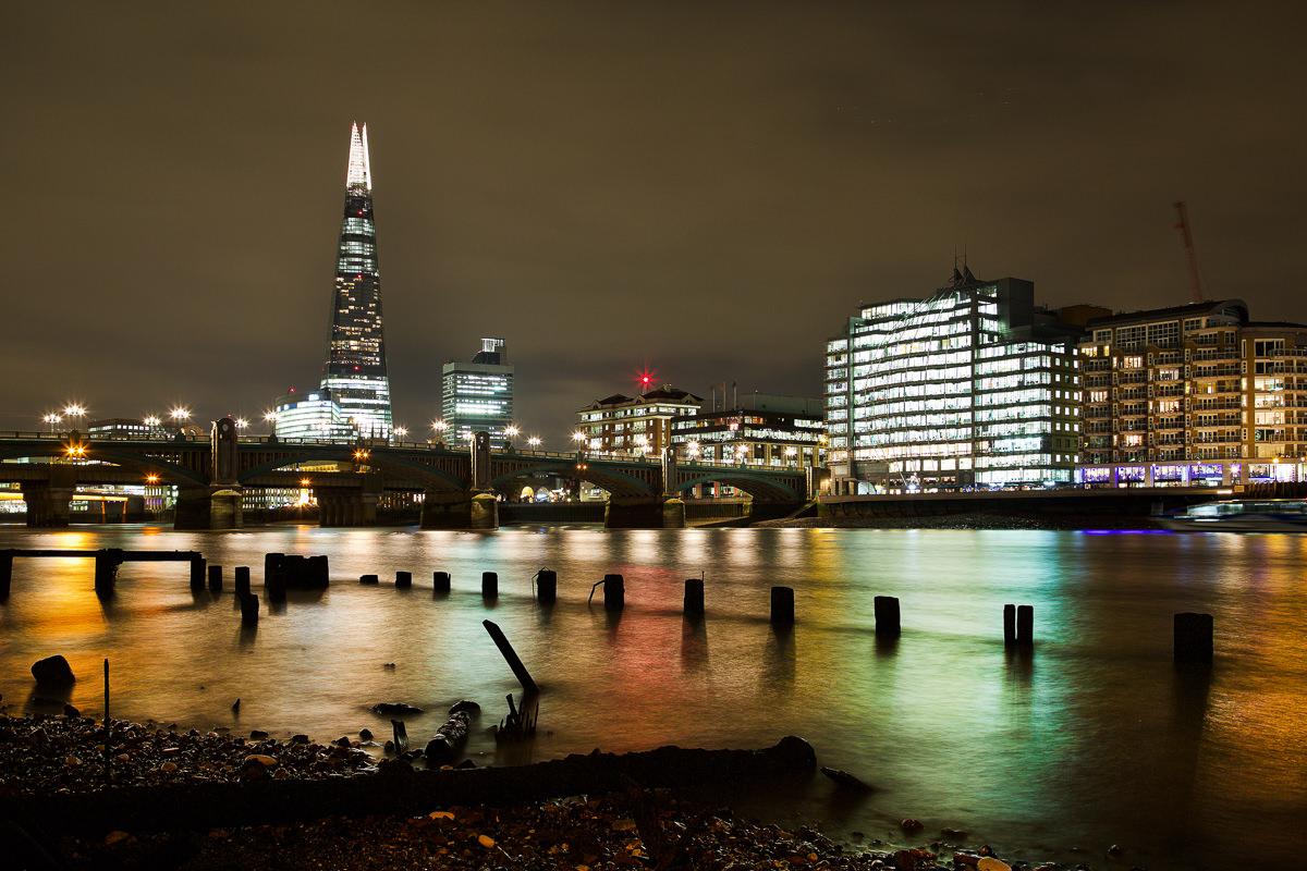 landscape of the river thames london