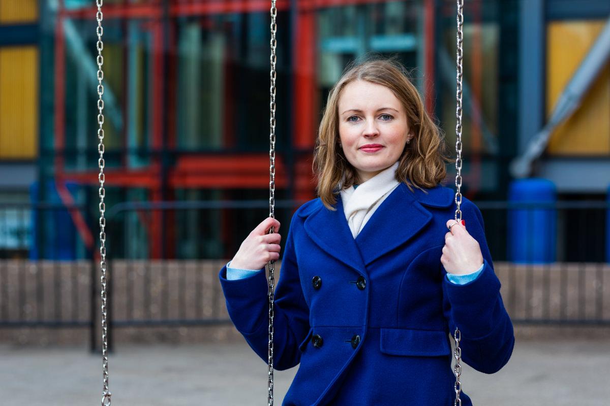 Portrait of woman london