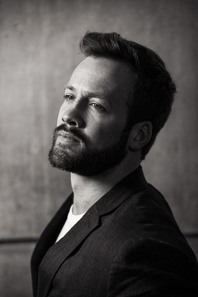 portrait of actor london shoreditch