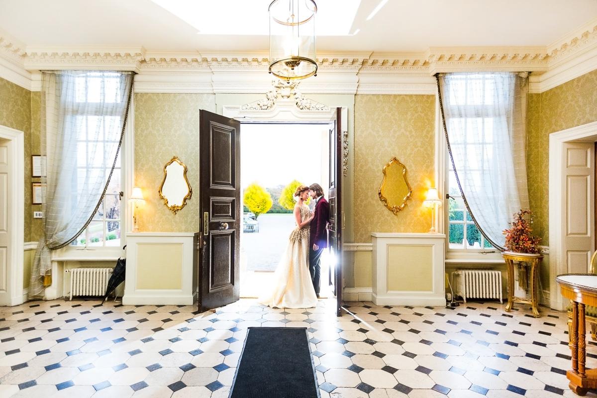 wedding portrait london country manor