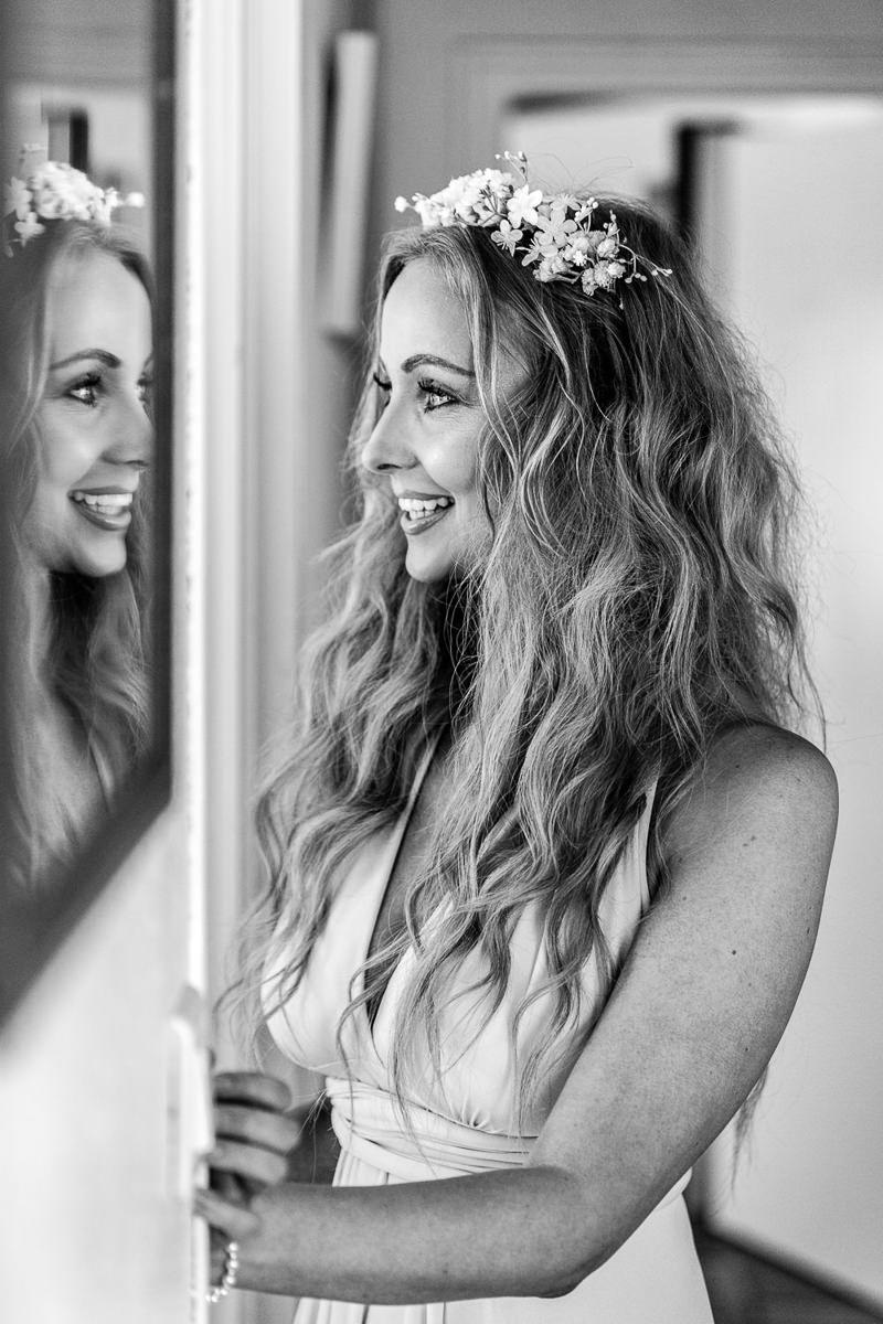 bridesmaid portrait london