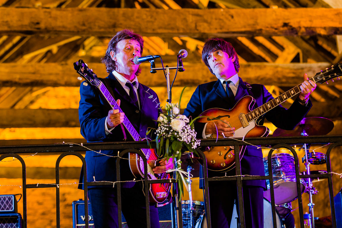 beatles cover band wedding brittany
