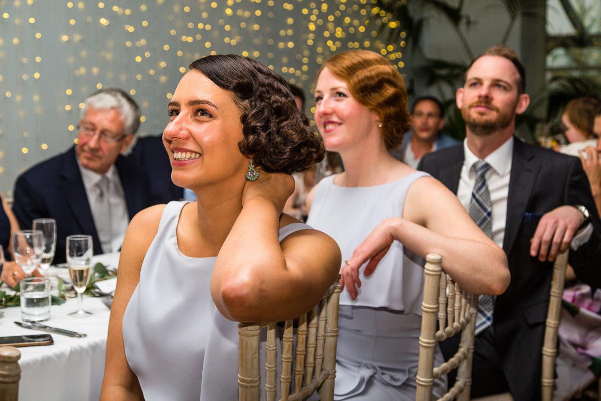 twenties hair wedding