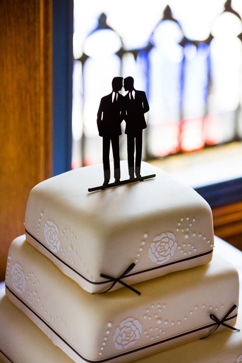 gay wedding cake london