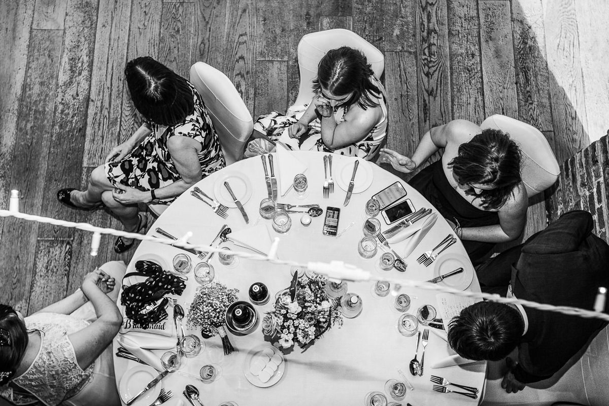 wedding table hatfield