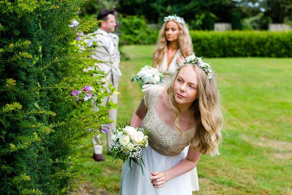 bridesmaid wedding camper britanny