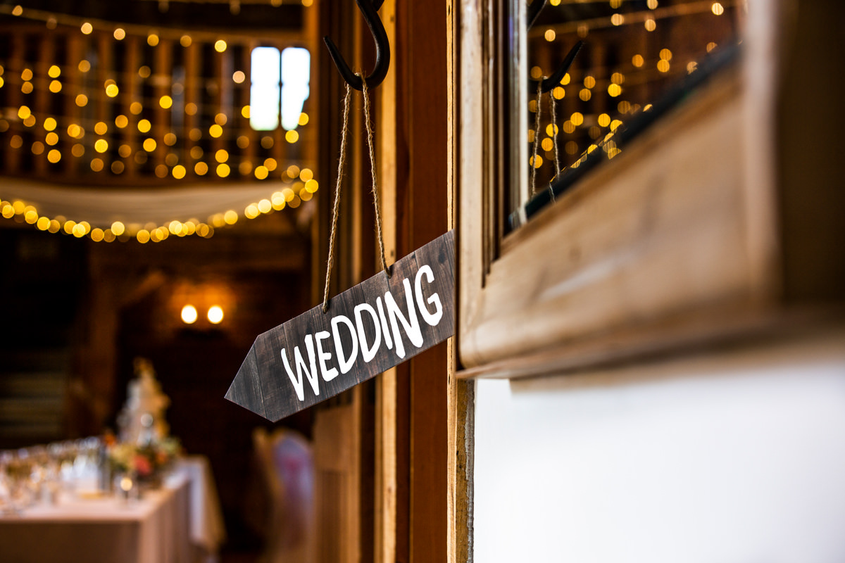 weddings sign after photography eding is applied